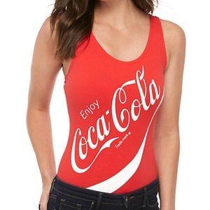 Coca Cola Red Tank Top Bodysuit